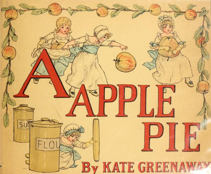 Kate Greenaway - A apple pie