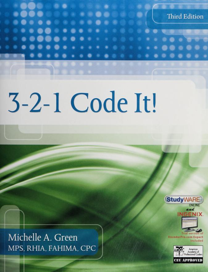 3-2-1 code it! by Michelle A. Green