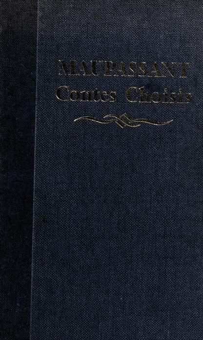 Contes choisis by Guy de Maupassant
