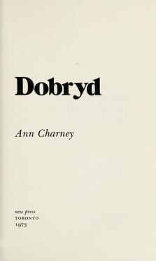 Cover of: Dobryd | Ann Charney