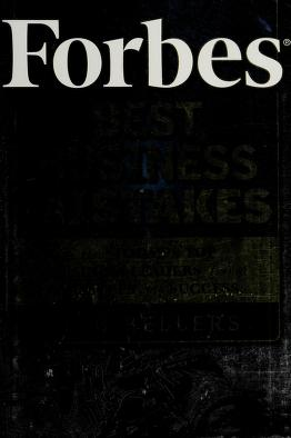 Cover of: Forbes best business mistakes | Bob Sellers