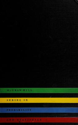 Cover of: Introduction to probability and random variables | George P. Wadsworth