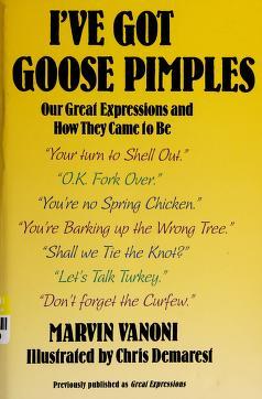 Cover of: I'Ve Got Goose Pimples | Marvin Vanoni