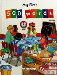 Cover of: My First 500 Words | Stephanie Ryder