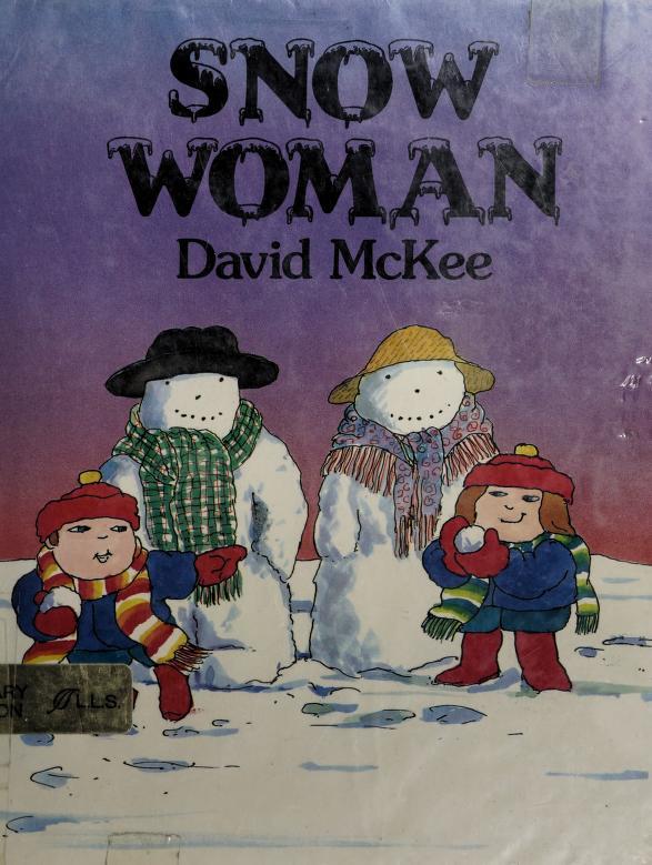 Snow woman by David McKee